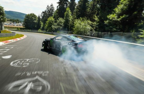 mustang rtr nurbirgring drift 5 550x360 at What Is the Best Car Insurance for High Risk Drivers?