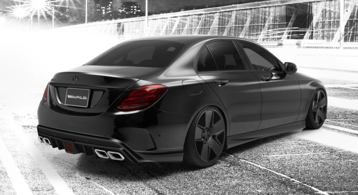 wald c class w205 002 730x398 at Wald Mercedes C Class Executive Body Kit (W205)