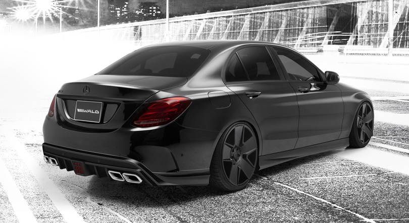 Wald Mercedes C-Class Executive Body Kit (W205