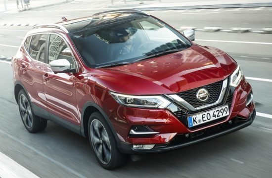 2019 Nissan Qashqai 1 550x360 at 2019 Nissan Qashqai Launches with New 1.3 liter Engine