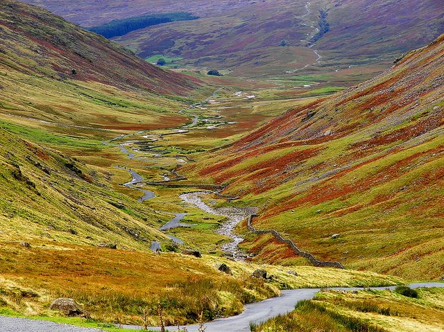 Hardknott Pass at Thrilling Road Trips for Car Lovers