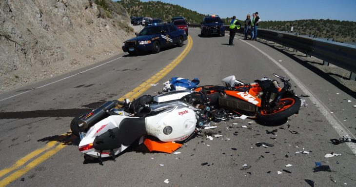 Motorcycle Crash 730x383 at Minding the Surroundings: What Are the 7 Most Common Causes of Motorcycle Crashes?