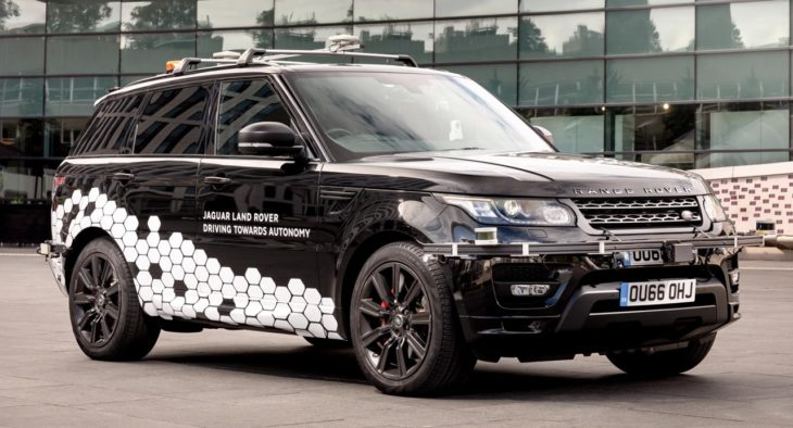 Self Driving Range Rover Sport 1 730x394 at Self Driving Range Rover Sport Unleashed on UK Roads