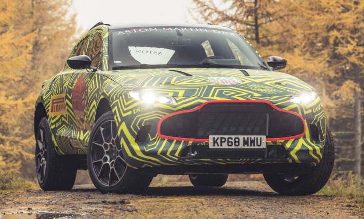 Aston Martin DBXPrototype01 jpg 730x440 at 2020 Aston Martin DBX SUV   First Look