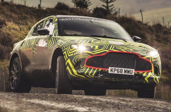 Aston Martin DBXPrototype04 jpg 550x360 at 2020 Aston Martin DBX SUV   First Look