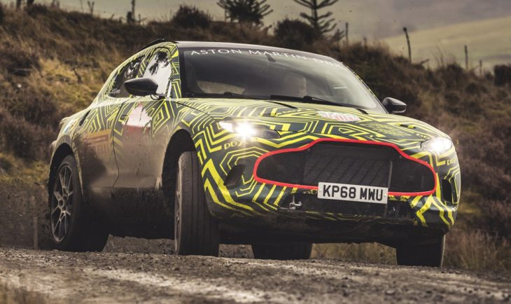 Aston Martin DBXPrototype04 jpg 730x434 at 2020 Aston Martin DBX SUV   First Look
