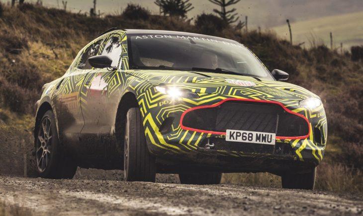 Aston Martin DBXPrototype04 jpg 730x434 at 2020 Aston Martin DBX SUV   First Look