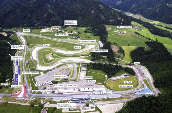 red bull ring 730x482 at Top 5 Race Tracks in the World