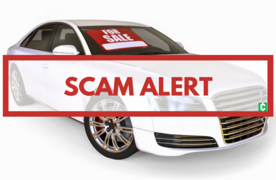 scam alert 550x360 at How to Avoid a Scam When Buying a Used Car
