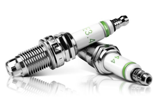 spark plugs 550x360 at 5 Ways To Upgrade Your Car For Better Performance