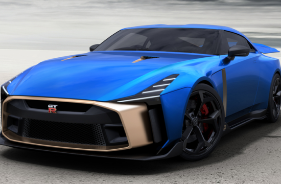 Nissan GT R50 Production Version   Exterior Image 4 550x360 at Nissan to Produce the 720 PS GT R50 by Italdesign