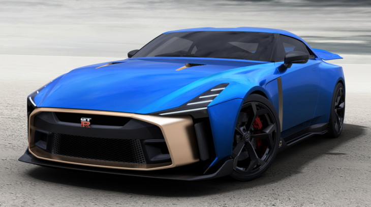 Nissan GT R50 Production Version   Exterior Image 4 730x409 at Nissan to Produce the 720 PS GT R50 by Italdesign