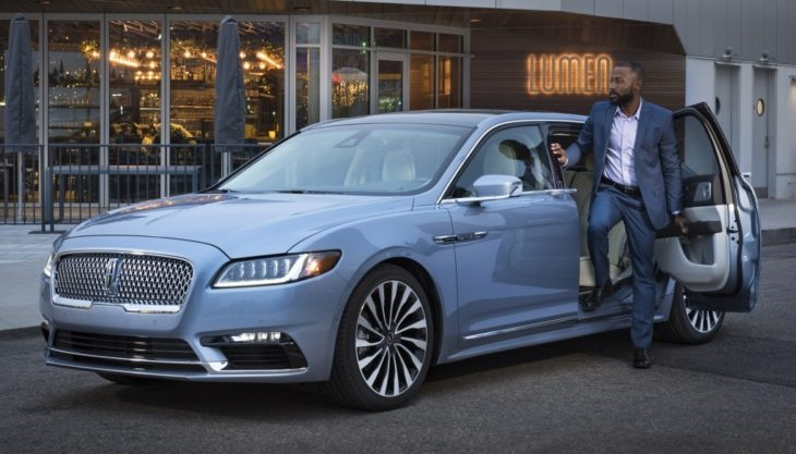 lincoln continental coach door 1 730x417 at 2019 Lincoln Continental Coach Door   80th Anniversary Special Edition