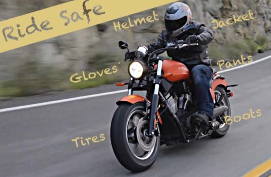 motorcycle safety gear 550x360 at Need for Speed: Safety Tips to Consider When Riding a Motorcycle
