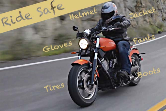 motorcycle safety gear at Need for Speed: Safety Tips to Consider When Riding a Motorcycle