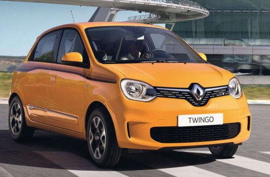 2019 Renault Twingo 1 550x360 at 2019 Renault Twingo   The New Symbol of Euro Chic