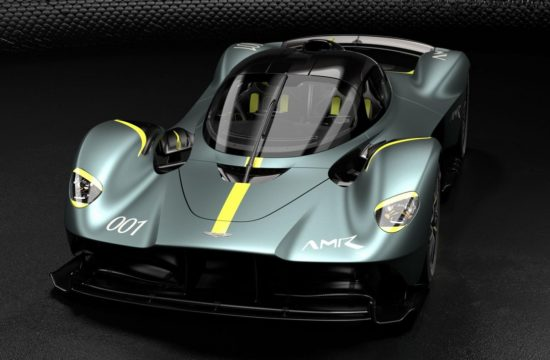 Aston Martin Valkyrie with AMR Track Performance Pack Stirling Green and Lime livery 1 550x360 at Heres Why Aston Martin Valkyrie Is the Ultimate Hypercar
