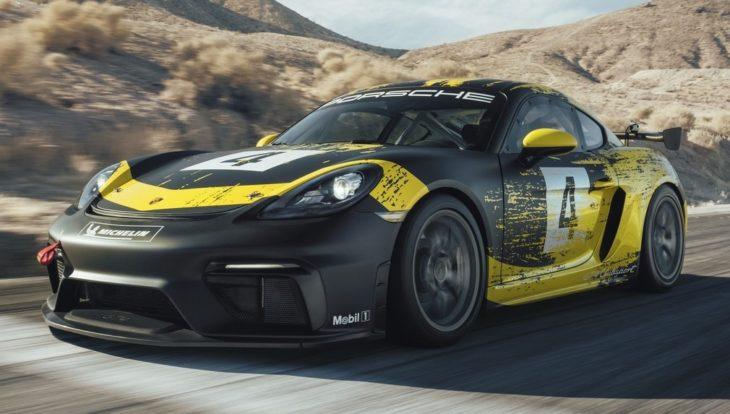 Porsche 718 Cayman GT4 Clubsport 3 730x414 at Official: 2019 Porsche 718 Cayman GT4 Clubsport