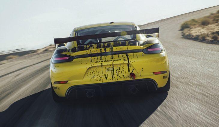Porsche 718 Cayman GT4 Clubsport 9 730x425 at Official: 2019 Porsche 718 Cayman GT4 Clubsport