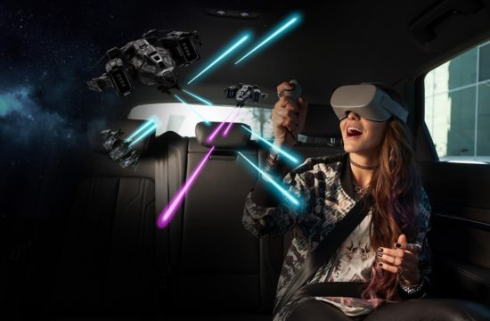 audi virtual reality e tron 550x360 at Virtual Reality Is the Latest Automotive Craze @ CES 2019