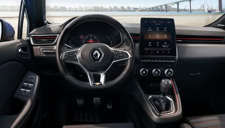 new clio interior 1 730x415 at Are Digital Instruments Coming to Affordable Cars? New Renault Clio Says Yes