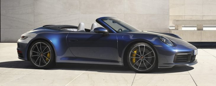 porsche 992 cabrio 2 730x292 at Is The New Porsche 911 Cabriolet The Best Looking Yet?