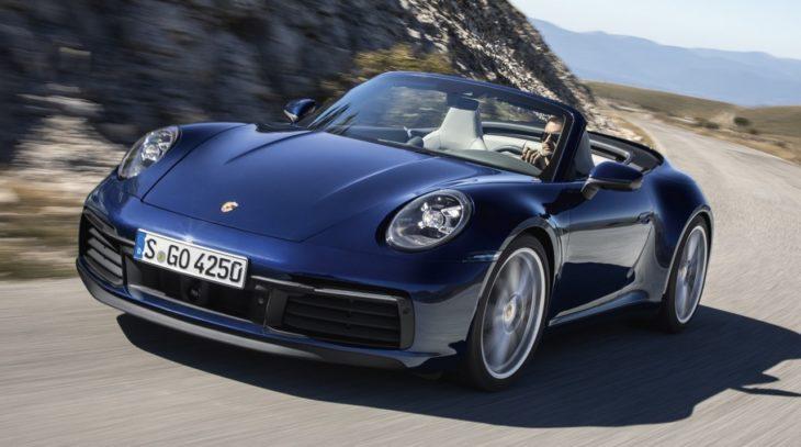 porsche 992 cabrio 4 730x407 at Is The New Porsche 911 Cabriolet The Best Looking Yet?