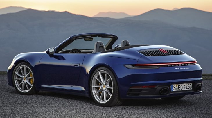 porsche 992 cabrio 6 730x406 at Is The New Porsche 911 Cabriolet The Best Looking Yet?