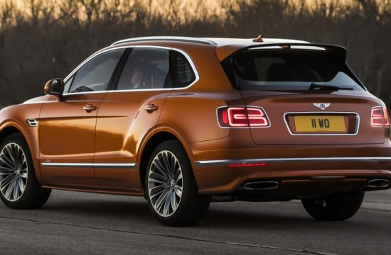 Bentayga Speed 9 550x360 at The New Bentley Bentayga Speed   How Much Is Enough?