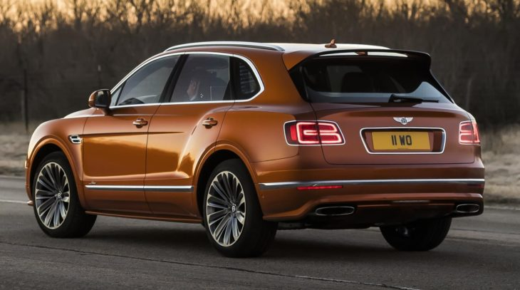 Bentayga Speed 9 730x407 at The New Bentley Bentayga Speed   How Much Is Enough?