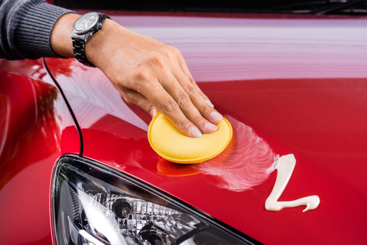 Waxing Car 730x487 at How to Get the Most Out of Waxing Your Car