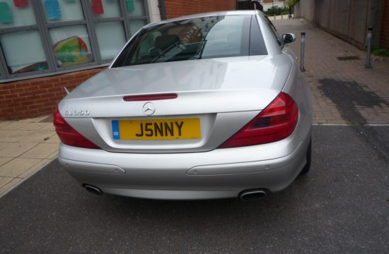 private plate 550x360 at The Right Private Number Plate For Your Car