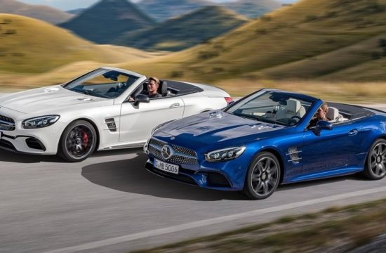 Mercedes Benz SL top 550x360 at Is Mercedes SL a Goner?