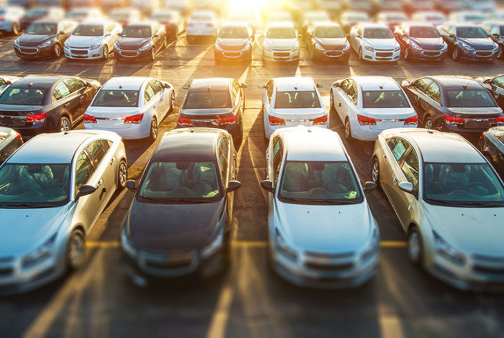 cars in lot 730x490 at When Should You Repair vs. Replace Your Vehicle?