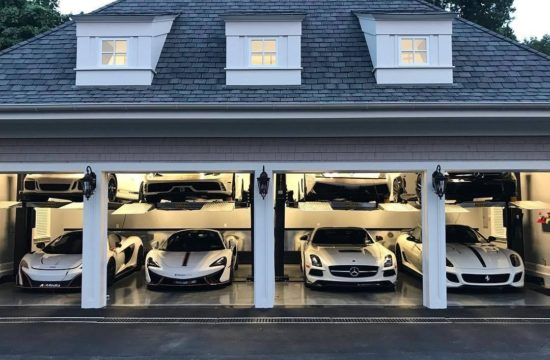 luxury garage 550x360 at Why You Really Should Park Your Car in the Garage
