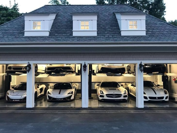 luxury garage 730x549 at Why You Really Should Park Your Car in the Garage