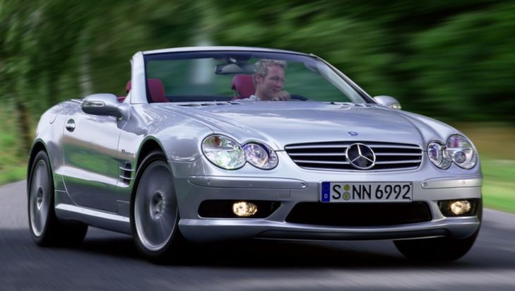mercedes benz sl 55 amg 730x413 at Is Mercedes SL a Goner?