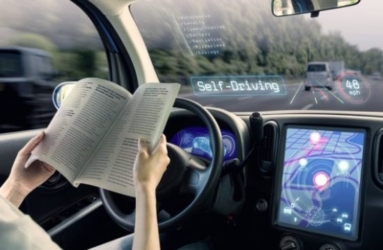 5g car driving 550x360 at New Tech Brings Collision Avoidance, Semi Automation To 2019 Cars