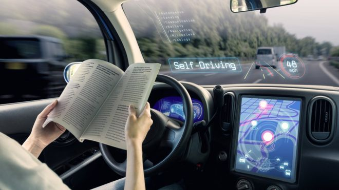 5g car driving at New Tech Brings Collision Avoidance, Semi Automation To 2019 Cars