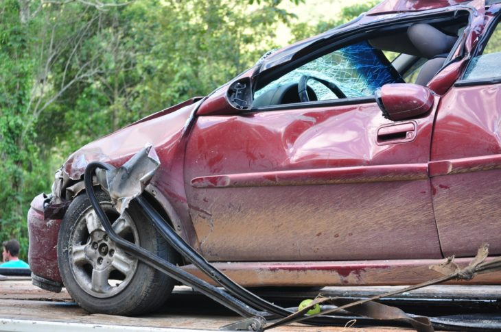 car accident 1 730x485 at Top 7 Worst Car Crashes by Celebrities