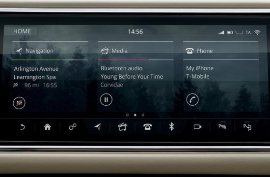 Land Rover Range Rover IT 550x360 at The Question of Ergonomics Vis à Vis Modern In Car Displays