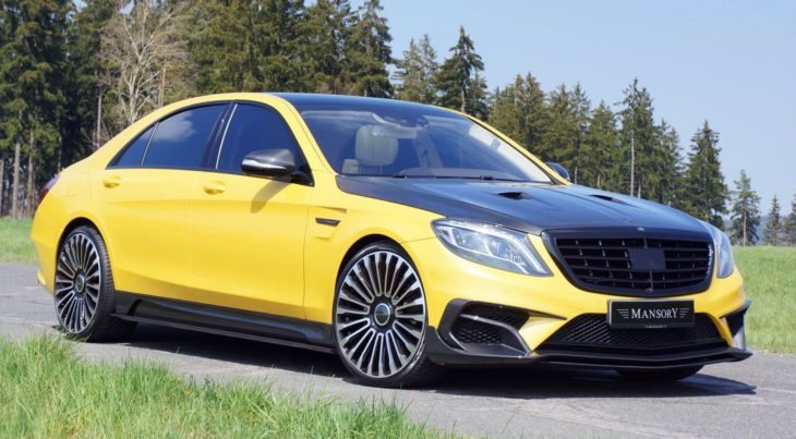 mansory mercedes s63 amg 730x403 at The Nouveau Riche Taste in Cars   A Bit of a Hit and Miss