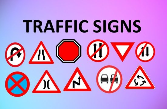 traffic signs 550x360 at How Many Categories of Road Signs are There?