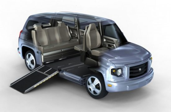 disabled people car 550x360 at How Far Have Disabled Vehicles Come & What Does the Future Hold?