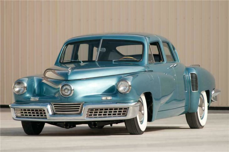 1948 Tucker Torpedo 730x485 at The Most Famous Cars in History
