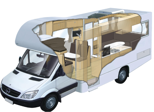 RV at Road Trip: Ride in Style With an RV