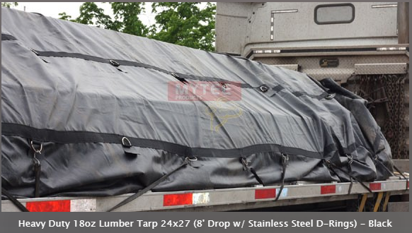 lumber tarps at Types of Truck Tarps to Secure the Cargo