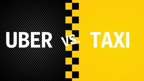 uber vs taxi at To Taxi or to Uber: That is the Question