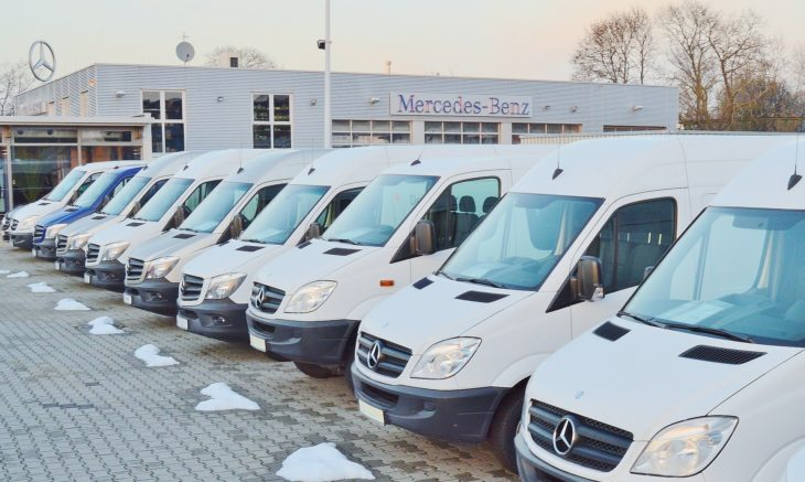 mercedes vans 730x437 at Choosing the Perfect Vans and Trucks for Your Business