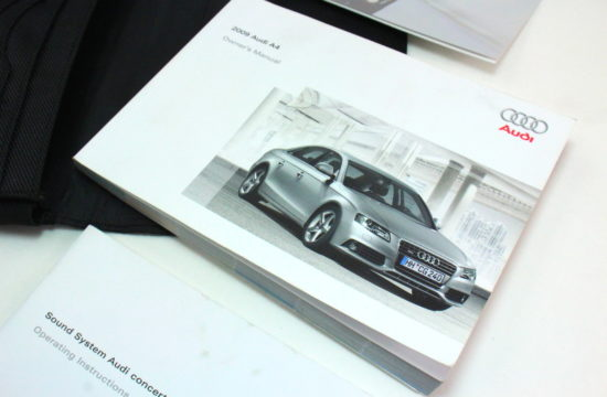 car manual 550x360 at Should You Replace a Lost Car Manual?